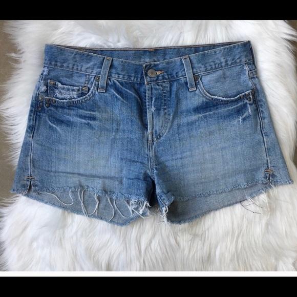 Levi's Pants - Levi's 501 denim cut off shorts size 25